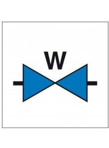 BRADY 803519-INFORMATIETEKENS - LOCATIEAANDUIDING WATERAFSLUITER (PIC 1011)-klium