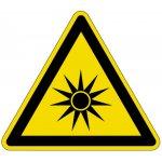BRADY 223490-Pictogram voor Machineveiligheid - Gevaar! Optische straling (DIN4844) (PIC 655)-klium