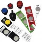 BRADY 802276-Labels als vervanging van gegraveerde plaatjes voor gebruik op TLS2200 & TLSPC LINK-klium