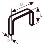 BOSCH 2609200241-Niet met fijne draad type 59 10,6 x 0,72 x 10 mm-klium