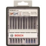 BOSCH 2607010542-10-delige Robust Line decoupeerzaagbladenset Wood and Metal T-schacht-klium