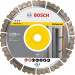 BOSCH 2608603637-Bosch Diamantdoorslijpschijf Best for Universal 400 x 20/25,40 x 3,3 x 15 mm-klium