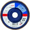 BOSCH 2608601277-Bosch X431 Lamellenschuurschijf, Standaard For Metal 125 mm, 22,23 mm, k120-klium