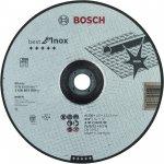 BOSCH 2608603509-Bosch Doorslijpschijf Gebogen Best For Inox A 30 V Inox Bf, 230 Mm, 2,5 Mm-klium