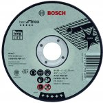 BOSCH 2608603502-Bosch Doorslijpschijf Recht Best For Inox A 30 V Inox Bf, 115 Mm, 2,5 Mm-klium