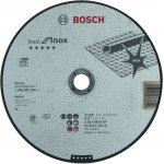 BOSCH 2608603508-Bosch Doorslijpschijf Recht Best For Inox A 30 V Inox Bf, 230 Mm, 2,5 Mm-klium