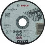 BOSCH 2608603496-Bosch Doorslijpschijf Recht Best For Inox A 46 V Inox Bf, 125 Mm, 1,5 Mm-klium