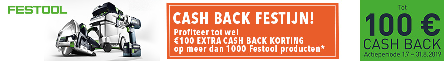 Festool Cash Back Festijn